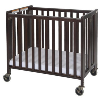 HideAway Fixed Side Crib - Cherry by Foundations