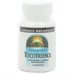 Source Naturals Tocotrienol Antioxidant Complex with Vitamin E - 30 Softgels