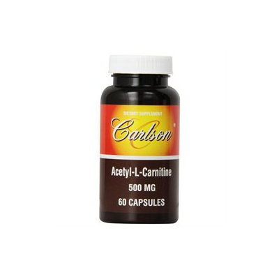 Acetyl L-Carnitine 500 mg, 60 Capsules, Carlson Labs