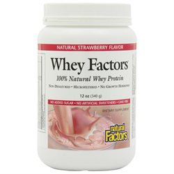 Natural Factors Whey Factors Natural Strawberry