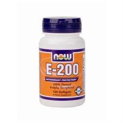 Now Foods Vitamin E 200 Iu 100 Softgels