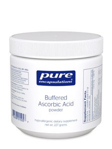 Pure Encapsulations - Buffered Ascorbic Acid Powder - Hypoallergenic Vitamin C Supplement for Sensit