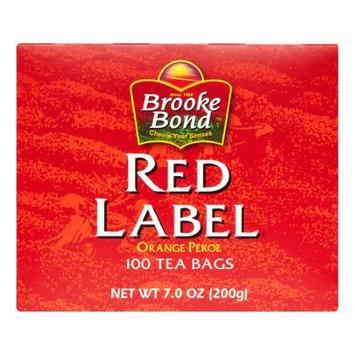 Brooke Bond Red Label Tea Bags Orange Pekoe 100 Tea Bags