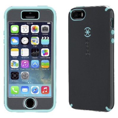 Speck Products Speck CandyShell Grip Cell Phone Case for iPhone 5C - Grey/Blue (SPK-