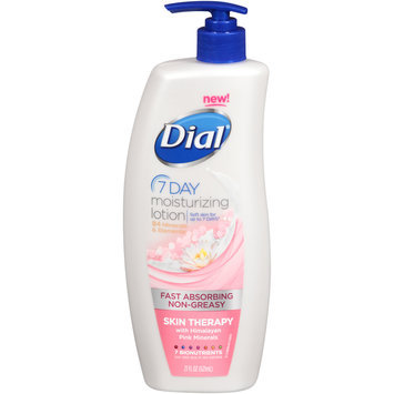 Dial Moisturizing Lotion, 7 Day Skin Therapy with Himalayan Pink Minerals. - DIAL
