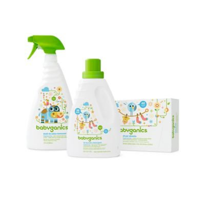 Babyganics Baby-Safe Laundry Essentials
