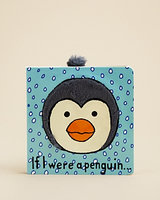 Jellycat Infant If I Were a Penguin Book - Ages 0+