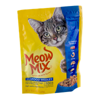 Meow Mix Cat Food Seafood Medley