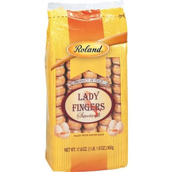 Roland Italian Lady Fingers Savoiardi, 17.6-Ounce (Pack of 10)