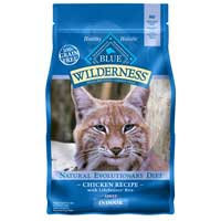 Blue Buffalo Wilderness Indoor Chicken Adult Dry Cat Food, 5 lbs.