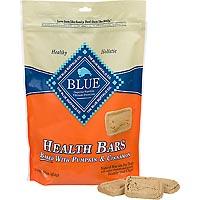 Blue Buffalo Health Bar Dog Treat Pumpkin/Cinnamon