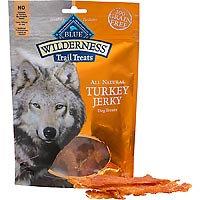 Best Friend Products Corp Blue Buffalo Wilderness Jerky Dog Treat Turkey
