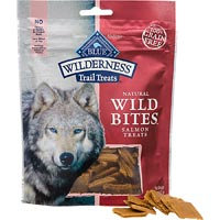 Best Friend Products Corp Blue Buffalo Wilderness Bites Dog Treat Salmon