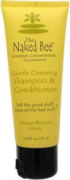 The Naked Bee Moisturizing Orange Blossom Gentle Cleansing Shampoo Conditioner