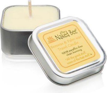 The Naked Bee Beeswax Palm Wax Travel Candle