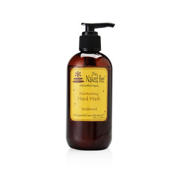 The Naked Bee Sandalwood Hand Wash Pump 8.0 Oz/240ml
