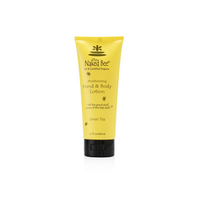 The Naked Bee Green Tea Hand & Body Lotion