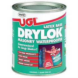 United Gilsonite Laboratories 27512 1 Quart Drylok Latex Base Masonry Waterproofer, White