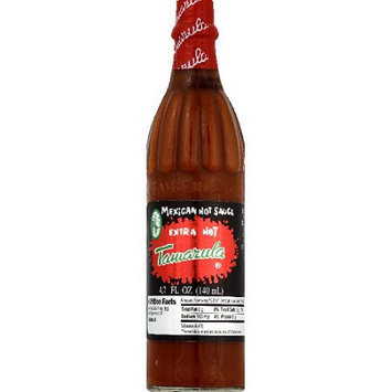 Generic Tamazula Extra Hot Mexican Hot Sauce, 4.7 fl oz, (Pack of 35)