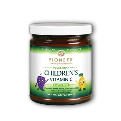 Pioneer Verified Gluten Free Children's Vitamin C Grape Pioneer (Verified Gluten Free) 90 g Powder