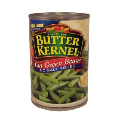 Butter Kernel Cut Green Beans No Salt Added-14.5 oz.