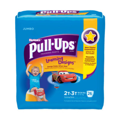 Huggies Pull-Ups Training Pants, 2T-3T, Boys, 25 ct