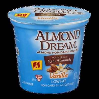Almond Dream Low Fat Non-Dairy Yogurt Vanilla