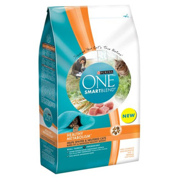 One Cat Purina One Healthy Metabolism Dry Cat Food - 7 lb