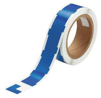 BRADY 121414 Marking Tape,L,1In W,1In L,PK750