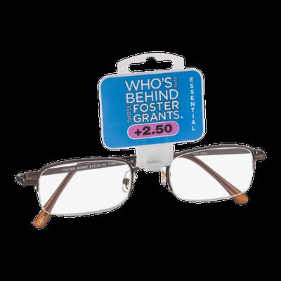 Foster Grants Non-Prescription Glasses Essential +2.50 Harrison BRN