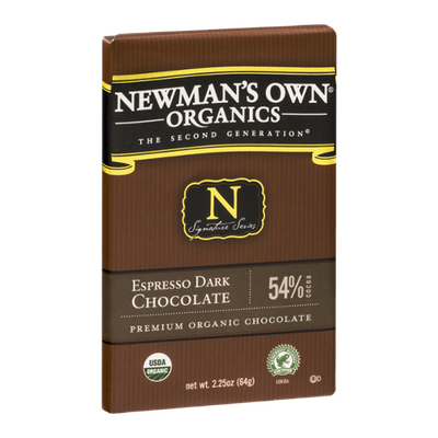 Newman's Own Organics The Second Generation Espresso Dark Chocolate