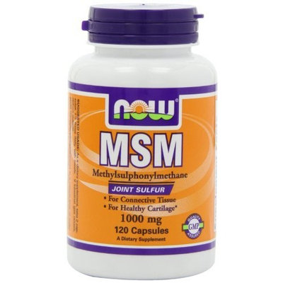 NOW Foods MSM 1000mg, 120 Capsules