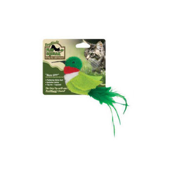 Play-N-Squeak RealBirds Buzz Off Cat Toy (Set of 5)