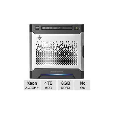 HP ProLiant MicroServer Gen8 Tower Server - 1-Way, Intel Xeon E3-1220L v2 2.30GHz, 8GB DDR3 Memory, 4TB HDD, Matrox G200