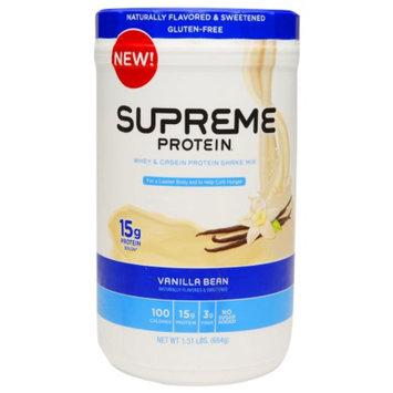 Supreme Protein Whey & Casein Protein Shake Mix Vanilla Bean