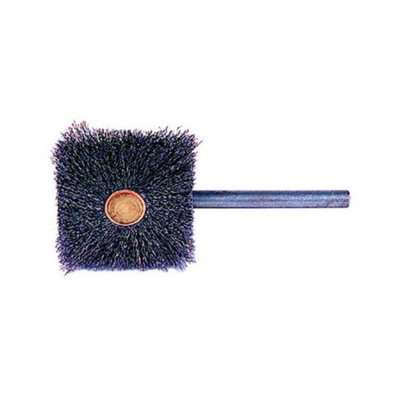 Weiler Stem-Mounted Square Brushes - sq-1 1/16 .0061 1/16