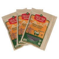 3 Bags Field Trip All Natural Beef Jerky 2.2oz Gluten & Nitrate Free Low Fat ORIGINAL NO. 3