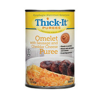 Thick-It Omelet with Sausage & Cheese Puree