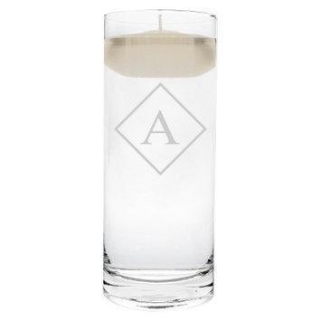 Cathy's Concepts Diamond Initial Floating Unity Candle A
