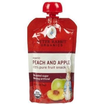 Peter Rabbit Organics Fruits - Peach & Apple - 4 oz