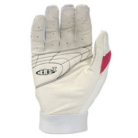 Cycle Products Co. Easton Reflex Batting Glove Adult Medium White/Pink - CYCLE PRODUCTS CO.