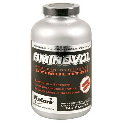 NX CARE NxLabs Aminovol Protein Synthesis Stimulator, 240 Caplets