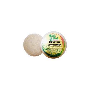 Bubble Shack Hawaii 492773500458 Pikake Lei Loofah Soap - Pack of 2