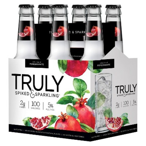Truly S&S Truly Pomegranate 6pk Bottles