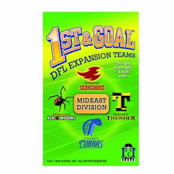 R and R Games 1st & Goal Expansion #1 - Mideast Division, 1 ea