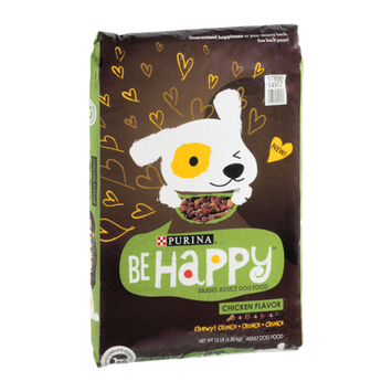 Purina BeHappy Adult Dog Food Chicken Flavor