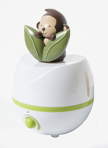 Sunpentown SU2541 Adorable Monkey Ultrasonic Humidifier Cool Mist Control and Auto