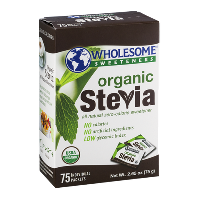 Wholesome Sweeteners Organic Stevia Packets