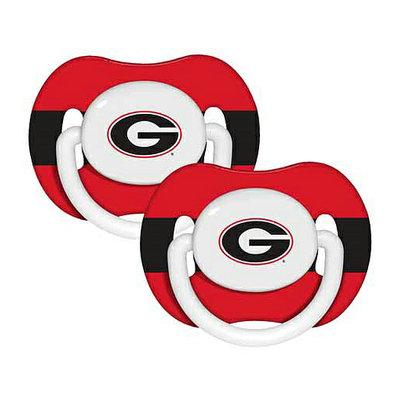 Baby Fanatic NCAA 2-Pack Baby Pacifiers - Georgia Bulldogs
