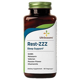Rest-EZ Sleep Support Life Seasons 60 Caps